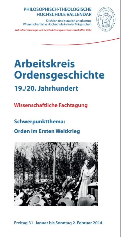 Flyer Orden im Ersten Weltkrieg