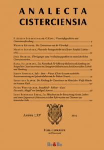 Analecta Cisterciensia 2015
